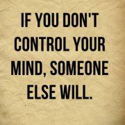 کنترل ذهن و رها کردن افکار منفی