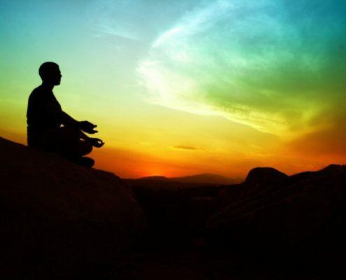 آرامشی نو , مدیتیشن در سفر